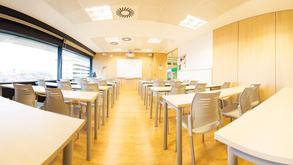 EU -Barcelona Classroom