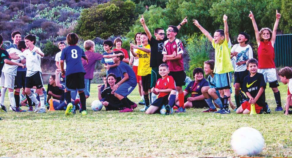 SAN DOMENICO, CALIFORNIA - ELS - Nike Sports Camp