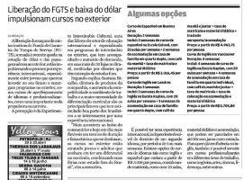 Liberação do FGTS e baixa do dólar - Tribuna de Santos